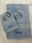 HEDGEHOG PERSONALISED TOWEL SET - Animal
